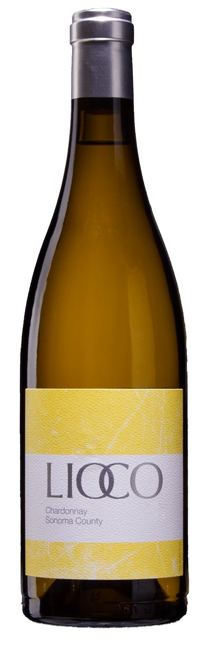 "Bottle Shot of Sonoma County ""SoCo"" Chardonnay"
